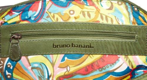 Bruno Banani Bicolour_5 HTL 320_1023, Damen Henkeltaschen 43x22x10 cm (B x H x T) Grün (Grün)
