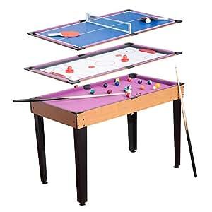 mini table de jeux 3 en 1 multifonction table de billard. Black Bedroom Furniture Sets. Home Design Ideas