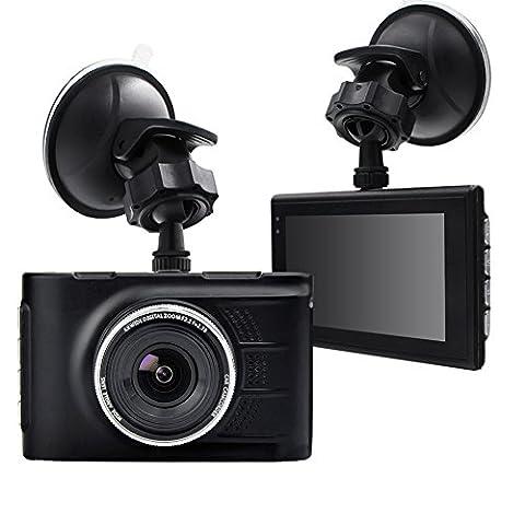 Yukong 3 Full HD 1080P Dash Cam, Car DVR CCTV