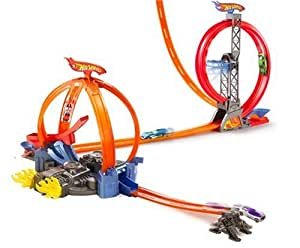 Mattel - M8081 - Accessoires - Hot Wheels - Trick Tracks Power Loop