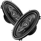 VW Golf 2 (83-92) Pioneer Lautsprecher Boxen 4x6 Koax Seiten Heckbereich