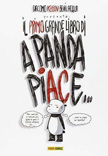 Il Primo Grande Libro Di A Panda Piace Ristampa