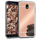 kwmobile Samsung Galaxy J5 (2017) DUOS Hülle - Handyhülle für Samsung Galaxy J5 (2017) DUOS - Handy Case in Rosegold spiegelnd