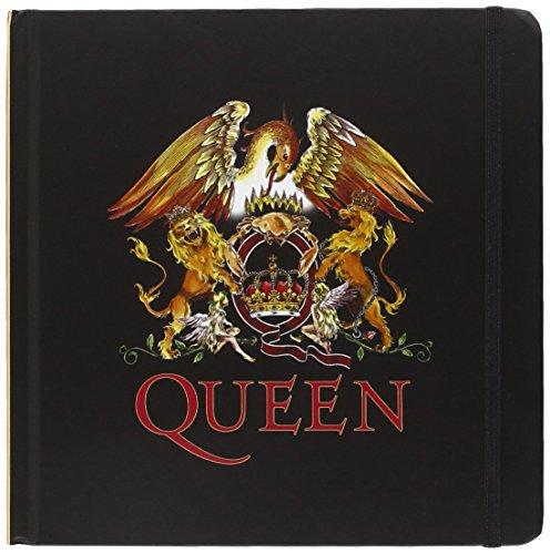 queen-crest-bloc-de-notas-negro