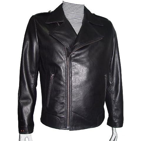 Paccilo desgaste para hombre 4 temporada 1039 REGULAR Y GRAN TAMAÑO de cuero chaqueta de la motocicleta