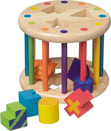 New Classic Toys - 2042934 - Formes Formes Formes À Trier Et À Empiler - Boîte À Formes Avec 6 Formes Différentes 021b4f