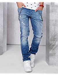Red Bridge Homme Jeans / Jeans Straight Fit Destroyed