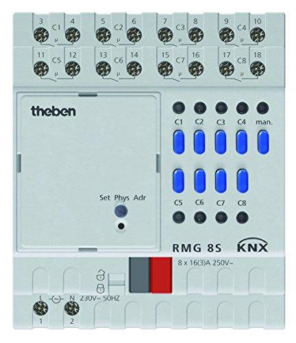 Theben 4930220, Attuatore di commutazione a 8 canali MIX2