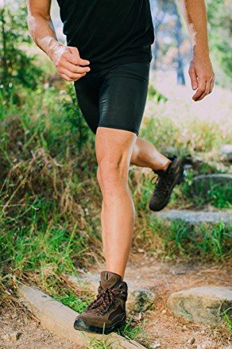 GUGGEN Mountain Herren Damen Wanderschuhe Bergschuhe Wasserdicht Outdoor-Schuhe Walkingschuhe HPM51 Braun
