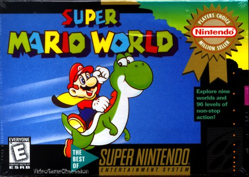 Super Mario World (Mario Super Nintendo World)