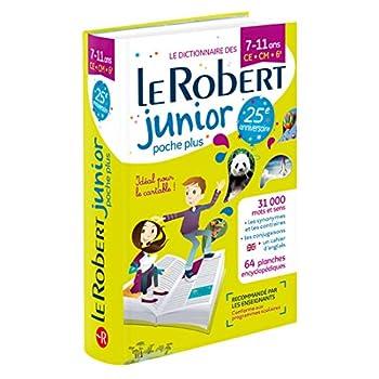 Dictionnaire Le Robert Junior Poche Plus - 7/11 ans - CE-CM-6e - Édition anniversaire