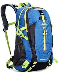 Demarkt Sac à Dos Randonnee Nylon Imperméable pour Randonnée Camping en Plein Air Sac a Dos Loisir Voyage Sport