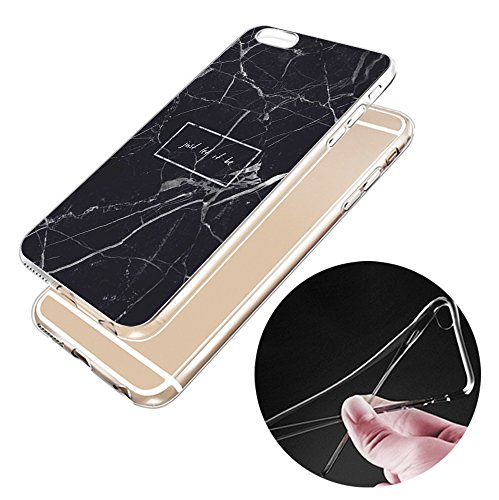 Iphone 6s Hülle Niedlich Katze Welpe Erdbeere Marmor Silikon TPU Schutzhülle Ultradünnen Case Schutz Hülle für iPhone 6/6s YM40