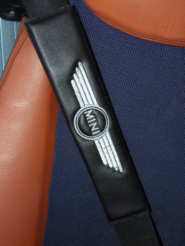 almohadillas-de-piel-sintetica-para-cinturon-de-seguridad-aptas-para-mini-cooper-color-negro