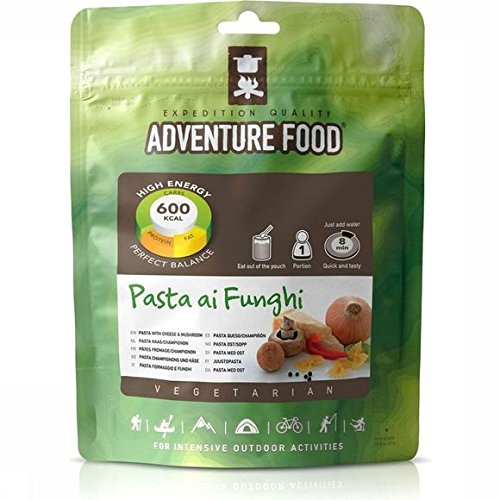 Adventure Foods Vegetarian Pasta Ai Funghi - Pasta Cheese With Mushroom