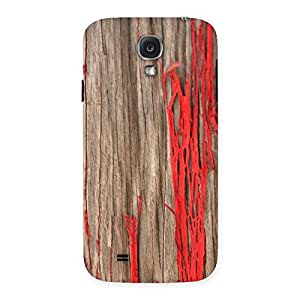 Ripped Wood Back Case Cover for Samsung Galaxy S4