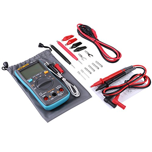 Akozon ANENG Digitalmultimeter Autoranging, AN8002 True-RMS-Digitalmultimeter AC-DC-Spannung Amperemeter Strom Ohm Meter-Diode/Shutdown, Frequenz und Duty Cycle Messungen-LCD Display-6000 Counts Duty-cycle-multimeter