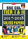 Kiran's SSC CGL Tier I and II 2017 and 2018 Solved papers EnglishWith detailed explanationTotal 47 SetsContent:current affairs.Model solved papersSet-01: SSC CGL Tier-I (CBE) Exam, 05.08.2017 (Shift-I)Set-02: SSC CGL Tier-I (CBE) Exam, 05.08.2017 (Sh...
