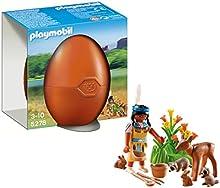 Comprar Playmobil Huevos - Nativa americana con animales (5278)