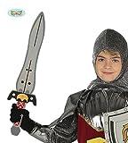 Guirca Schwert aus Moosgummi Ritter Ritterschwert Mittelalter Kämpfer Soldat Fasching