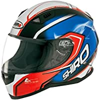 CASCO SHIRO SH-881 MOTEGI ROJO (XL, ROJO)