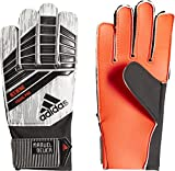 adidas Predator Young Pro Mn Torwarthandschuhe, Solar Red/Black/Silver Metalic/White, 7.5