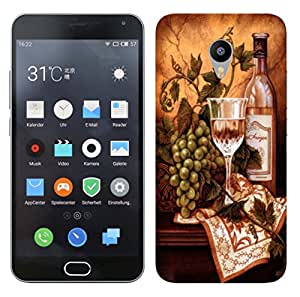 WOW 3D Printed Designer Mobile Case Back Cover For Meizu M2 Note / M2 Note