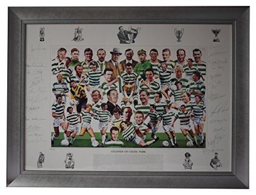 Sportagraphs-Legends-of-Celtic-Park-SIGNED-FRAMED-Huge-Photo-Autograph-x22-Football-AFTAL-COA
