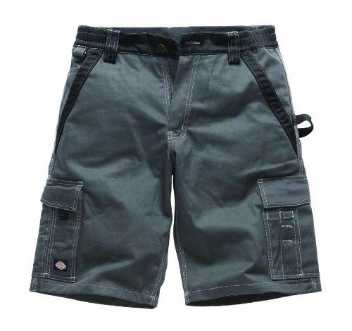 Dickies Industry300 Kurze Hose Shorts Service Industrie, Farbe:grau/schwarz;Größe:54