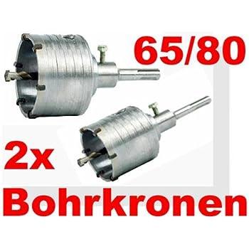 Bohrkronen Set 65 und 80mm