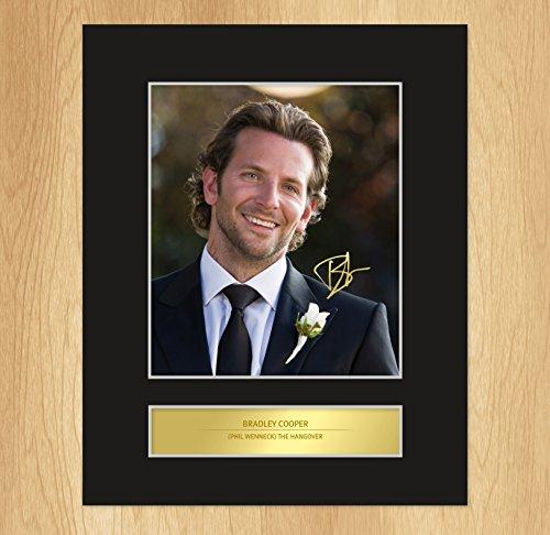 Bradley Cooper (Phil) The Hangover autografo