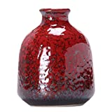 Startseite / B?ro Nette chinesische Vase Dekor Vase Mini Vase kleine Vase, rot