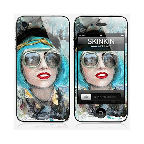 Coque iPhone 6 Plus et 6S Plus de chez Skinkin - Design original : Lady gaga glasses par Denise Esposito Skin iPhone 4