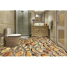 PEIWENIN Badezimmer 3D Kleine Stein Teppich Tr Pad Kche Anti Rutsch Schlafzimmer