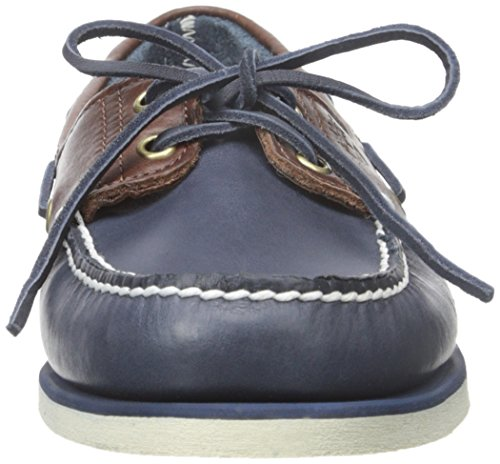 Timberland Classic Boat 2 Eyevintage Indigo and Potting Soil Two-Tone, Chaussures Bateau Homme Multicolore (Vintage Indigo And Potting Soil Two-tone)
