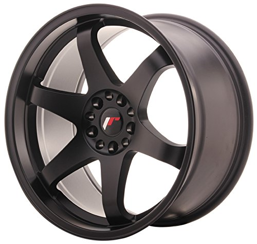 JAPAN Racing JR3 Matt Black 9.5 x 19 eT35 5 x 100/120 jantes en alliage