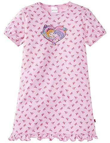 Schiesser Mädchen Prinzessin Lillifee Nachthemd 1/2, Rot (Rosa 503), 104