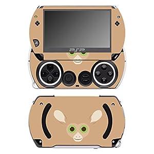 Disagu SF-14232_1028 Design Folie für Sony PSP Go – Motiv Koboldmakigesicht transparent