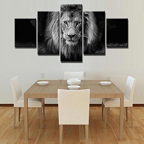 5 Grupo Animal moderno León Marcos cuadros lienzo