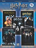 Harry Potter Solos (violin/CD) --- Violon/Piano - Various --- Alfred Publishing