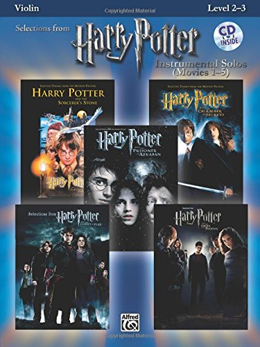 Harry Potter Instrumental Solos Violin (with CD) por Various