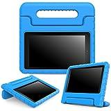 MoKo - funda para Amazon Kindle Fire 7 2015 (EVA), Azul