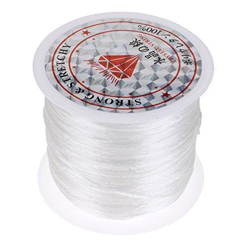 erlen Faden Schnur Seil Halskette Kette Armbänder Kristall Schnur Gurt Weiß ()