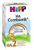 Hipp HA2 Combiotik Folgenahrung - ab dem 6. Monat, 2er Pack (2 x 500g)