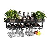 Ameublement et décoration Meubles Porte-bouteilles Supports à vin muraux en fer...