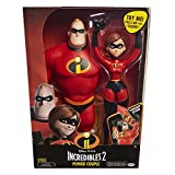Jakks Pacific Power Couple - Elastigirl & Mr. Incroyable, Couleur Rouge, 04508