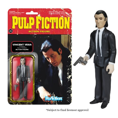 Funko Figurine Reaction Pulp Fiction - Vincent Vega