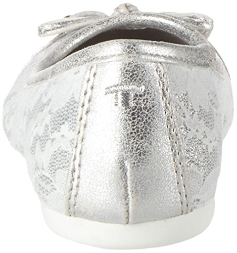 Tom Tailor 2772501, Ballerines fille Argenté