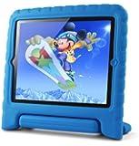 Lavolta Eva Stand Étui Enfants Antichoc Protecteur pour Apple iPad 2 / iPad 3 / iPad 4 Nouveau iPad Retina - Bleu