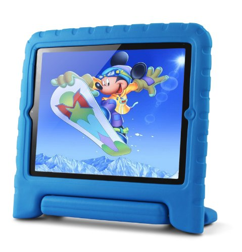 Lavolta Eva - Funda protectora para Apple iPad 2/3/4, color azul